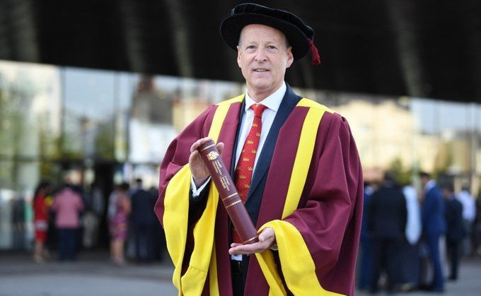 Sony UK TEC Managing Director awarded top honour by Cardiff Metropolitan University