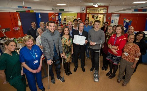 Sony UK Technology Centre reflects on its work with The Princess of Wales Hospital in honour of International Day of Charity
