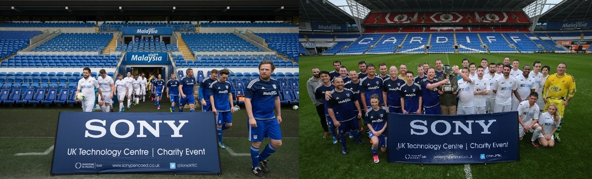 Sony Charity Football match